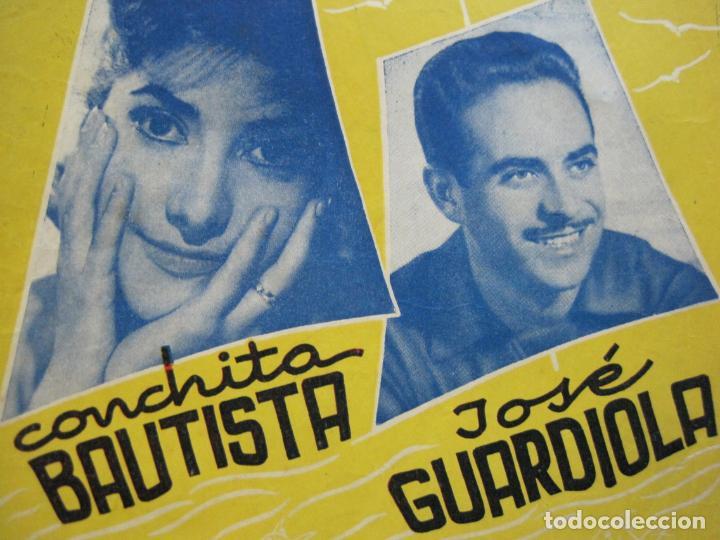 Catálogos de Música: III FESTIVAL CANCION MEDITERRANEA-JOSE GUARDIOLA Y CONCHITA BAUTISTA-ED·ALAS-VER FOTOS-(V-20.237) - Foto 4 - 205798667