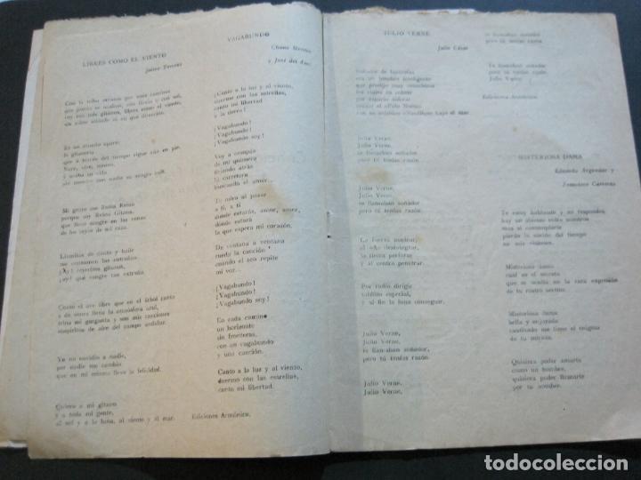Catálogos de Música: III FESTIVAL CANCION MEDITERRANEA-JOSE GUARDIOLA Y CONCHITA BAUTISTA-ED·ALAS-VER FOTOS-(V-20.237) - Foto 11 - 205798667