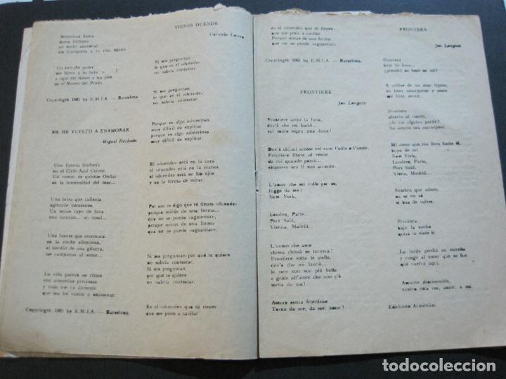 Catálogos de Música: III FESTIVAL CANCION MEDITERRANEA-JOSE GUARDIOLA Y CONCHITA BAUTISTA-ED·ALAS-VER FOTOS-(V-20.237) - Foto 12 - 205798667