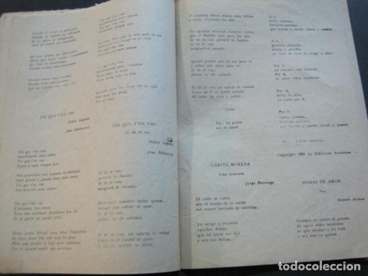Catálogos de Música: III FESTIVAL CANCION MEDITERRANEA-JOSE GUARDIOLA Y CONCHITA BAUTISTA-ED·ALAS-VER FOTOS-(V-20.237) - Foto 15 - 205798667