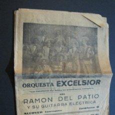 Catálogos de Música: ALCOVER-ORQUESTA EXCELSIOR CON RAMON DEL PATIO-CANCIONERO-VER FOTOS-(V-20.252). Lote 206153516