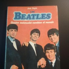 Catálogos de Música: EDICIONES MARTINEZ ROCA LOS BEATLES -IDOLOS POP AUTOR JOAN SINGLA 1983 PDELUXE. Lote 207034657