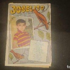 Catálogos de Música: REVISTA CANCIONERO JOSELITO 1959 - SUS CANCIONES EN DISCOS RCA , LEER DESCRIPCION. Lote 207354407