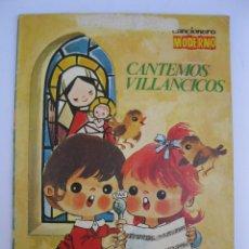 Catálogos de Música: CANCIONERO MODERNO - CANTEMOS VILLANCICOS - EDICIONES ESTE.. Lote 207738897