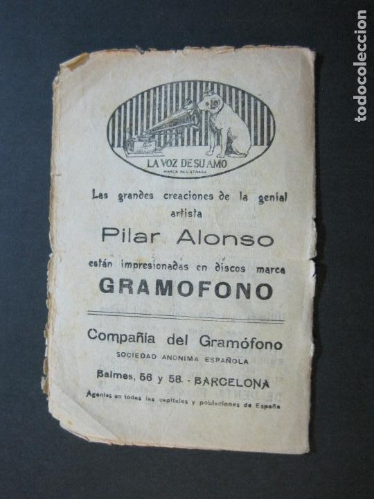 Catálogos de Música: GRANDES CREACIONES DE PILAR ALONSO-REPERTORIO CASTELLANO Y CATALAN-VER FOTOS-(V-20.458) - Foto 7 - 207751923