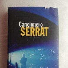 Catálogos de Música: CANCIONERO - JOAN MANUEL SERRAT. Lote 207789302
