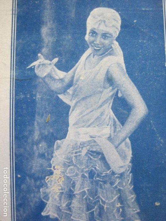 Catálogos de Música: JHAYRA SANDEG-TEATRO PRINCIPAL DE GRACIA-PROGRAMA AÑO 1929-VER FOTOS-(71.377) - Foto 2 - 207870768