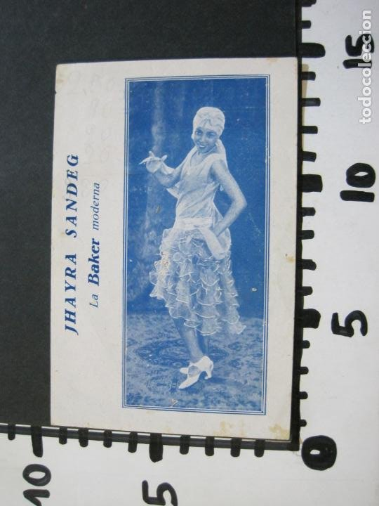 Catálogos de Música: JHAYRA SANDEG-TEATRO PRINCIPAL DE GRACIA-PROGRAMA AÑO 1929-VER FOTOS-(71.377) - Foto 5 - 207870768