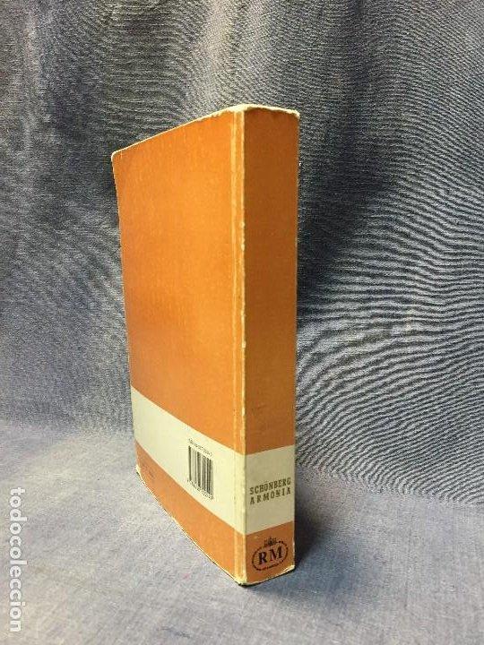 Catálogos de Música: TRATADO DE ARMONÍA SCHÖNBERG ARMONÍA REAL MÚSICAL MADRID GUSTAV MAHLER 2002 - Foto 2 - 207980677
