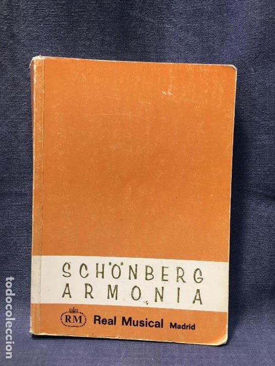TRATADO DE ARMONÍA SCHÖNBERG ARMONÍA REAL MÚSICAL MADRID GUSTAV MAHLER 2002 (Música - Catálogos de Música, Libros y Cancioneros)