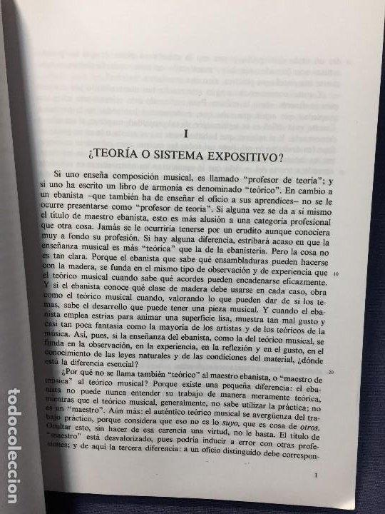 Catálogos de Música: TRATADO DE ARMONÍA SCHÖNBERG ARMONÍA REAL MÚSICAL MADRID GUSTAV MAHLER 2002 - Foto 8 - 207980677