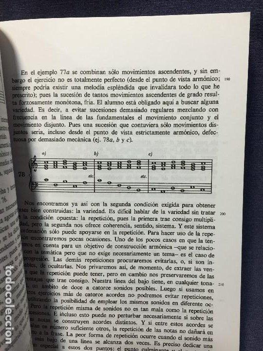 Catálogos de Música: TRATADO DE ARMONÍA SCHÖNBERG ARMONÍA REAL MÚSICAL MADRID GUSTAV MAHLER 2002 - Foto 9 - 207980677