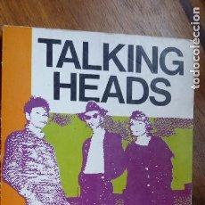 Catálogos de Música: TALKING HEADS - XABIER BUENDÍA - AÑOS 70 80. Lote 208587417