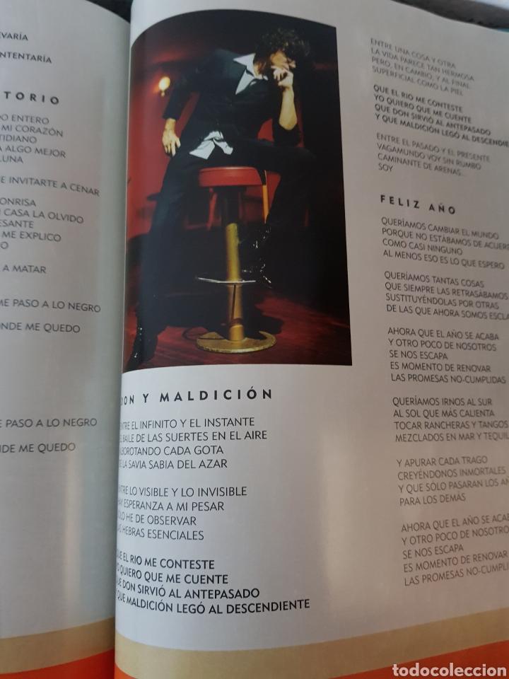 Catálogos de Música: Libro Bunbury. Pequeño 20 aniversario. Tamaño vinilo, tapa dura. (Sólo el libro) - Foto 4 - 234128805