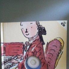 Catálogos de Música: MOZART ( LIBRO + CD ). Lote 208954876