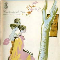 Catálogos de Música: GRAN TEATRO DEL LICEO DE BARCELONA - TEMPORADA DE OPERA 1967-68 - SALOMÉ / RICHARD STRAUSS. Lote 210034391