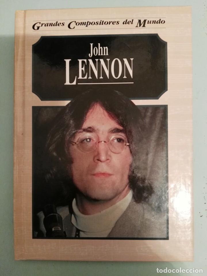 JOHN LENNON. GRANDES COMPOSITORES. MICHAEL WHITE.EDITORIAL EDELVIVES BEATLES (Música - Catálogos de Música, Libros y Cancioneros)