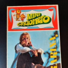 Catálogos de Música: MINI CANCIONERO KARINA. AÑO 1969. PÓSTER 27CM X 27CM. Lote 210474372
