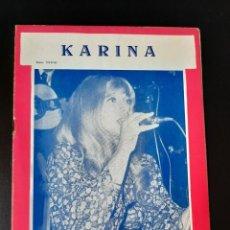Catálogos de Música: CANCIONERO KARINA - EDICIONES MARAZUL (1971). Lote 210478935