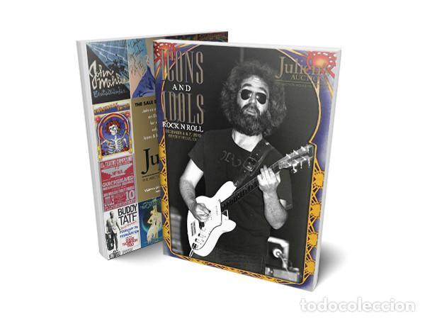 CATALOGO JULIENS AUCTIONS ICONOS E IDOLOS ROCK AND ROLL 2014 GUITARRAS MUSICA COLECCION (Música - Catálogos de Música, Libros y Cancioneros)