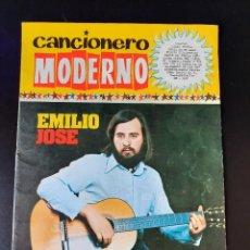 Catálogos de Música: EMILIO JOSE / CANCIONERO MODERNO / EDICIONES ESTE 1973. Lote 210775127