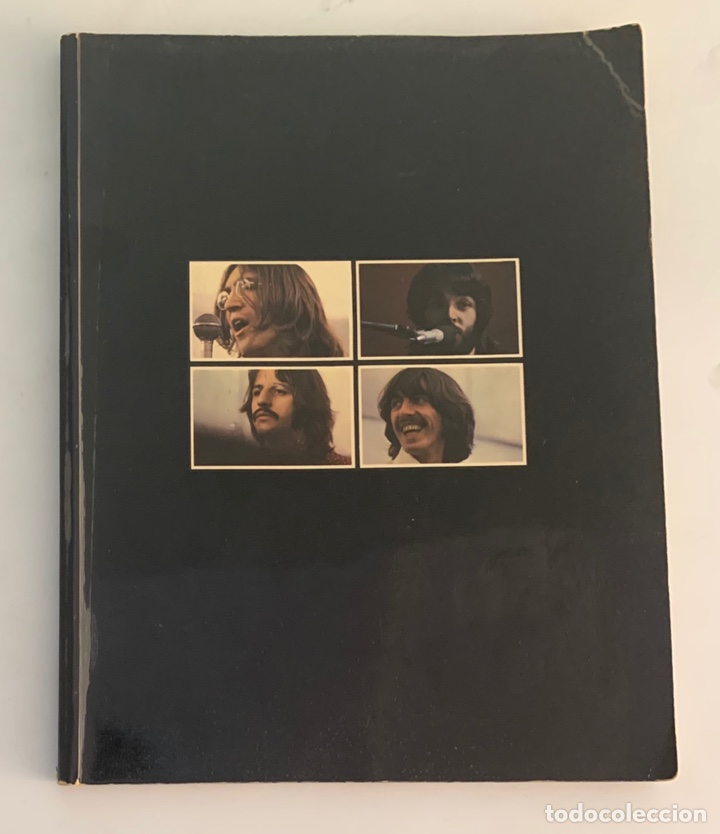 LIBRO DE 1969 DE THE BEATLES GET BACK (Música - Catálogos de Música, Libros y Cancioneros)