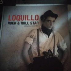 Catálogos de Música: LOQUILLO/ ROCK & ROLL STAR /JORDI GARCIA - MIGUEL PEREZ TAPA DURA BUEN ESTADO. Lote 211661411