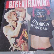 Catálogos de Música: REGENERATION (BY RAY STEVENSON) - LIBRO - CHELSEA,GENERATION X,BILLY IDOL,SIGUE SIGUE SPUTNIK.. Lote 211782310