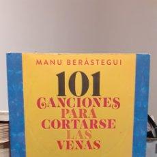 Catalogues de Musique: 101 CANCIONES PARA CORTARSE LAS VENAS. Lote 212050725