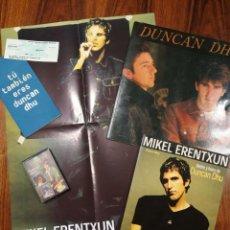 Catalogues de Musique: LOTE DUNCAN DHU-MIKEL ERENTXUN. Lote 212477840
