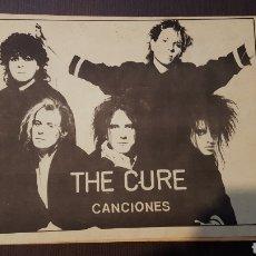 Catalogues de Musique: FANZINE - THE CURE - ROBERT SMITH - CANCIONES - EDITADO EN 1987 - 68 PAGINAS. Lote 212786543