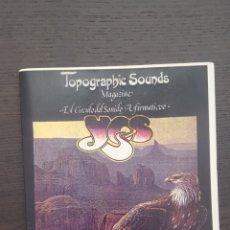 Catálogos de Música: FANZINE - TOPOGRAPHIC SOUNDS MAGAZINE - YES - ANDERSON, BRUFORD, WAKEMAN & HOWE. Lote 212831645