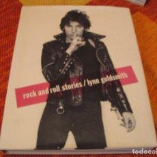 Catálogos de Música: LYNN GOLDSMITH ROCK AND ROLL STORIES BLONDIE STONES DYLAN PATTI SMITH MARLEY U2 MICHAEL JACKSON. Lote 212988942