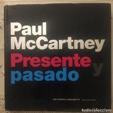 Catálogos de Música: PAUL MCCARTNEY BEATLES PRESENTE Y PASADO - TONY BARRON Y ROBIN BEXTOR. Lote 213723718