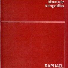 Catálogos de Música: RAPHAEL ALBUM DE FOTOGRAFIAS DE SUS PELICULAS 1970 VER DESCRIPCION Y ALGUNAS FOTOS. Lote 214098423