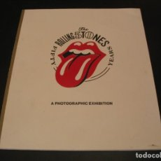 Catálogos de Música: THE ROLLING STONES FIFTY YEARS A PHOTOGRAPHIC EXHIBITION. Lote 214188188