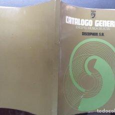 Catálogos de Música: DISCOPHON, CATÁLOGO GENERAL EXCEPTO MÚSICA SELECTA, 1974 CON 224 PÁGINAS. Lote 214196557