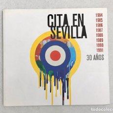 """Catalogues de Musique: LIBRO / REVISTA """"CITA EN SEVILLA. 30 AÑOS"""". MÚSICA. FESTIVAL. CONCIERTO.. Lote 214400171"""