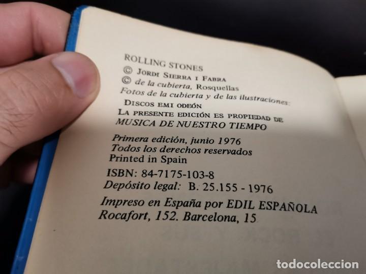 Catálogos de Música: ROLLING STONES EL ROCK Y SUS SATÁNICAS MAJESTADES JORDI SIERRA 1976 POSIBLE RECOGIDA EN MALLORCA - Foto 2 - 215759020