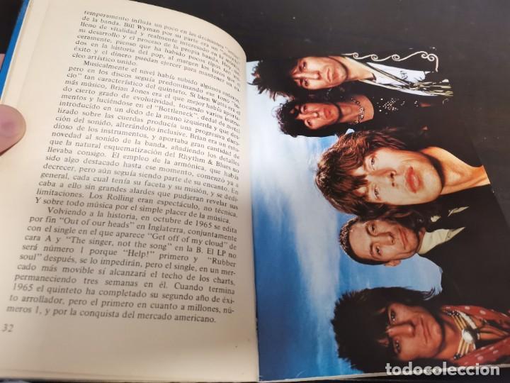 Catálogos de Música: ROLLING STONES EL ROCK Y SUS SATÁNICAS MAJESTADES JORDI SIERRA 1976 POSIBLE RECOGIDA EN MALLORCA - Foto 5 - 215759020
