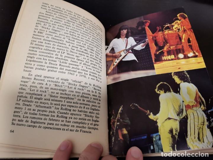 Catálogos de Música: ROLLING STONES EL ROCK Y SUS SATÁNICAS MAJESTADES JORDI SIERRA 1976 POSIBLE RECOGIDA EN MALLORCA - Foto 6 - 215759020
