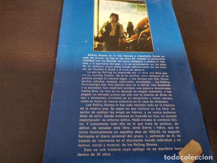 Catálogos de Música: ROLLING STONES EL ROCK Y SUS SATÁNICAS MAJESTADES JORDI SIERRA 1976 POSIBLE RECOGIDA EN MALLORCA - Foto 9 - 215759020