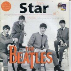 Catálogos de Música: REVISTA FAN STAR (SPECIAL BEATLES STORY) REVISTA FRANCESA. Lote 216415693