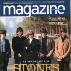 Catálogos de Música: REVISTA MAGAZINE (OCTUBRE 2003) LA VERDAD DE LOS STONES. Lote 216416076