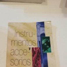 Catálogos de Música: C-1 LIBRO INSTRUMENTOS Y ACCESORIOS LISTA OFICIAL DE PRECIOS MUSICOMANIA. Lote 217955093