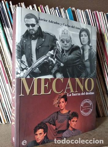MECANO LA FUERZA DEL DESTINO, JAVIER ADRADOS Y CARLOS DEL AMO, LA ESFERA (Música - Catálogos de Música, Libros y Cancioneros)