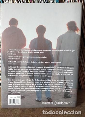 Catálogos de Música: MECANO LA FUERZA DEL DESTINO, JAVIER ADRADOS Y CARLOS DEL AMO, LA ESFERA - Foto 2 - 218146486