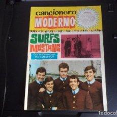 Catálogos de Música: CANCIONERO MODERNO SURFS MUSTANG. Lote 218716710