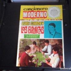 Catálogos de Música: CANCIONERO MODERNO LUIS GARDEY - LOS BRINCOS.. Lote 218716906