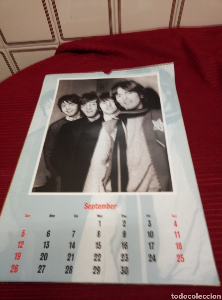 Catálogos de Música: The Beatles. Official 1993 calendar. - Foto 5 - 219460832